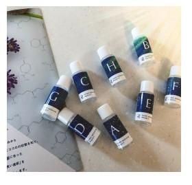 嗅覚反応分析 精油